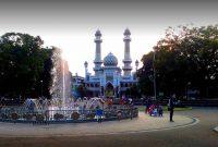 wisata religi masjid agung jami malang