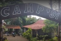 fasilitas camp 91 kedaung outbound
